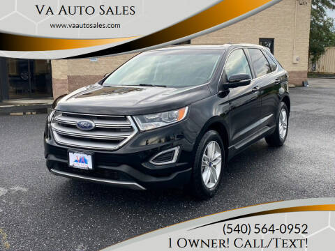 2016 Ford Edge for sale at Va Auto Sales in Harrisonburg VA
