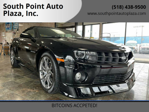 2011 Chevrolet Camaro for sale at South Point Auto Plaza, Inc. in Albany NY
