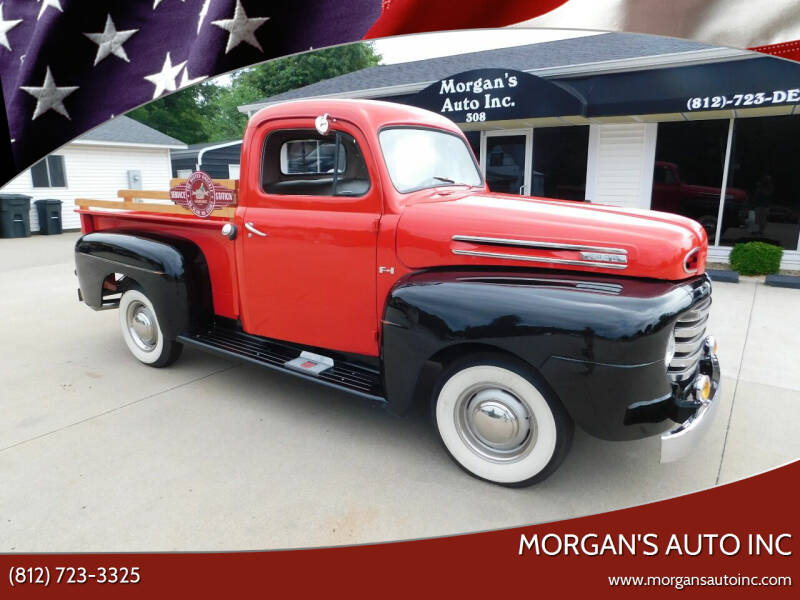 1950 Ford F-100 for sale at Morgan's Auto Inc in Paoli IN