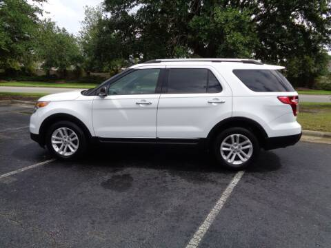 2014 Ford Explorer for sale at BALKCUM AUTO INC in Wilmington NC