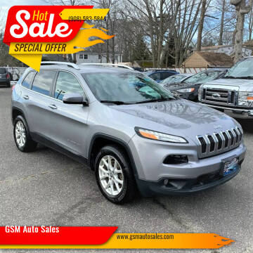 2016 Jeep Cherokee for sale at GSM Auto Sales in Linden NJ