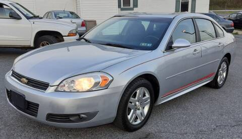 2011 Chevrolet Impala for sale at Bik's Auto Sales in Camp Hill PA