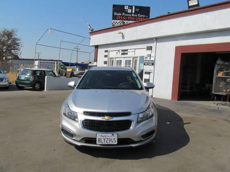 2016 Chevrolet Cruze Limited for sale at Dealer Finance Auto Center LLC in Sacramento CA