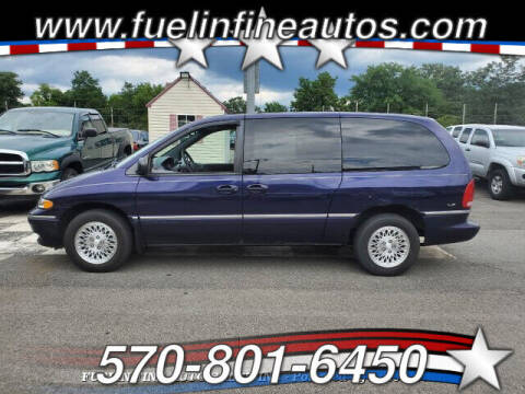 1997 Chrysler Town and Country for sale at FUELIN FINE AUTO SALES INC in Saylorsburg PA