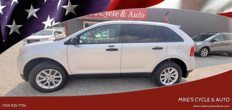 2013 Ford Edge for sale at MIKE'S CYCLE & AUTO in Connersville IN