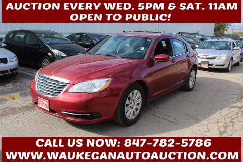 2012 Chrysler 200 for sale at Waukegan Auto Auction in Waukegan IL