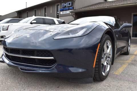2014 Chevrolet Corvette for sale at IMD Motors in Richardson TX