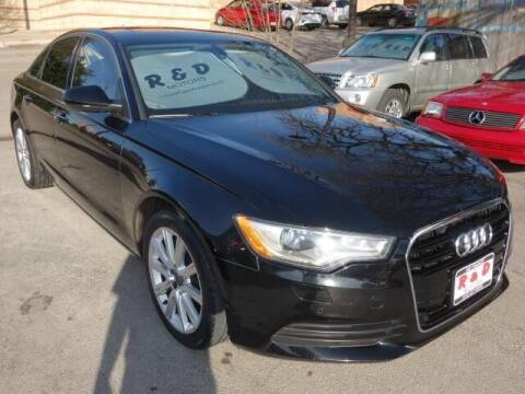 2014 Audi A6 for sale at R & D Motors in Austin TX