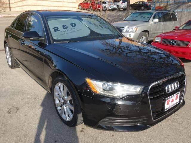 2014 Audi A6 for sale at R & D Motors in Austin TX