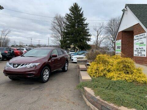 2012 Nissan Murano for sale at Direct Sales & Leasing in Youngstown OH