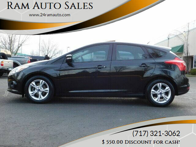 2013 Ford Focus for sale at Ram Auto Sales in Gettysburg PA