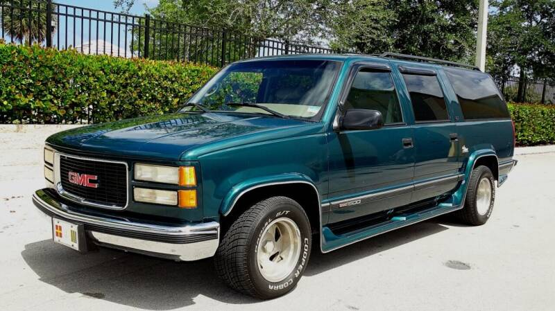 1996 GMC Suburban for sale at Premier Luxury Cars in Oakland Park FL