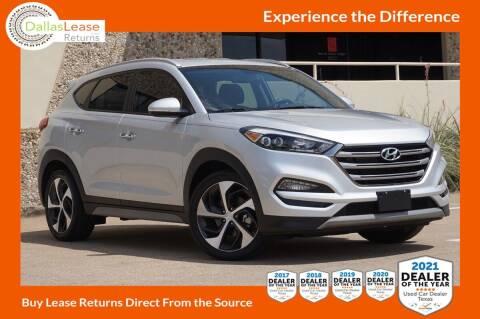 2017 Hyundai Tucson for sale at Dallas Auto Finance in Dallas TX