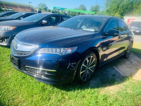 2015 Acura TLX for sale at BRYANT AUTO SALES in Bryant AR