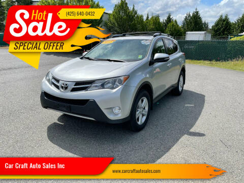 2013 Toyota RAV4 for sale at Car Craft Auto Sales Inc in Lynnwood WA