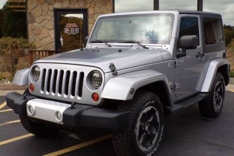 2013 Jeep Wrangler for sale at Rogos Auto Sales in Brockway PA