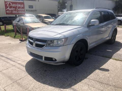 2010 Dodge Journey for sale at DAVINA AUTO SALES in Casselberry FL