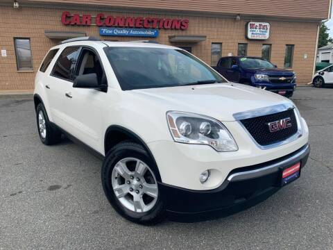 2012 GMC Acadia for sale at CAR CONNECTIONS in Somerset MA