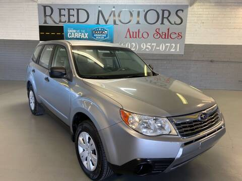 2010 Subaru Forester for sale at REED MOTORS LLC in Phoenix AZ