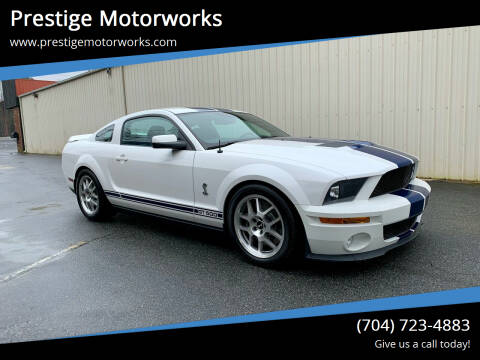 2008 Ford Shelby GT500 for sale at Prestige Motorworks in Concord NC
