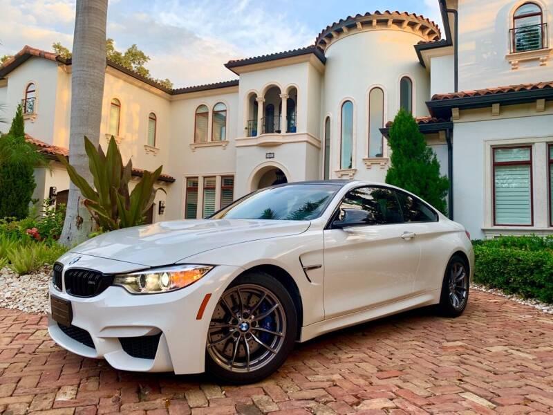 2016 BMW M4 for sale at Mirabella Motors in Tampa FL