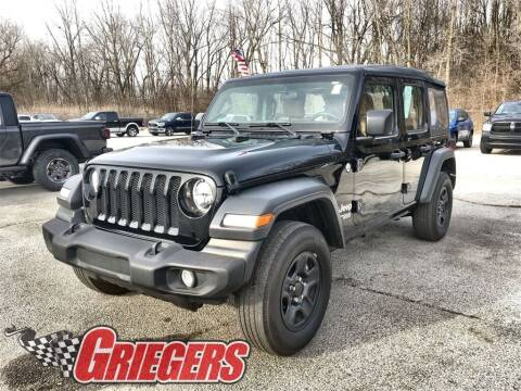 2019 Jeep Wrangler Unlimited for sale at GRIEGER'S MOTOR SALES CHRYSLER DODGE JEEP RAM in Valparaiso IN