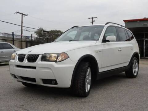 2006 BMW X3 for sale at 123 Car 2 Go LLC in Dallas TX