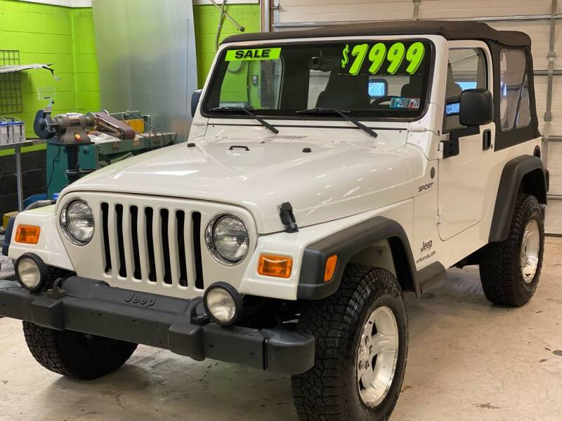 2004 Jeep Wrangler for sale at Ginters Auto Sales in Camp Hill PA