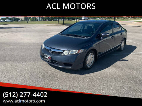2009 Honda Civic for sale at ACL MOTORS in Austin TX