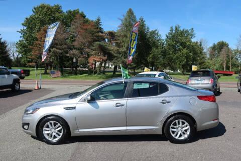 2013 Kia Optima for sale at GEG Automotive in Gilbertsville PA