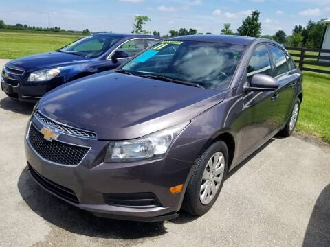 2011 Chevrolet Cruze for sale at Pack's Peak Auto in Hillsboro OH