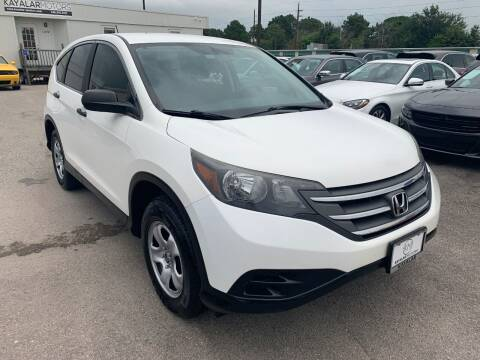 2012 Honda CR-V for sale at KAYALAR MOTORS Mechanic in Houston TX