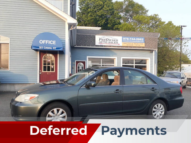 2004 Toyota Camry for sale at Pre-Owned Auto Sales Inc in Salem MA
