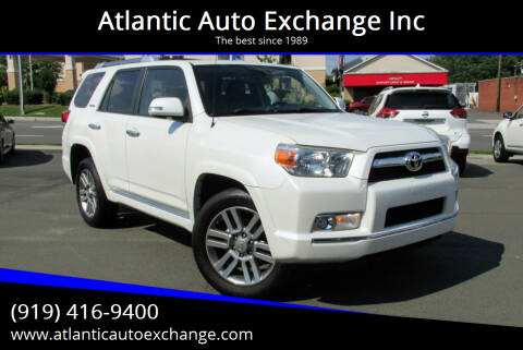 2013 Toyota 4Runner for sale at Atlantic Auto Exchange Inc in Durham NC