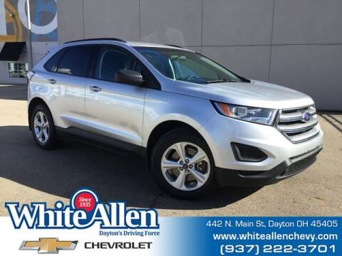 2018 Ford Edge for sale at WHITE-ALLEN CHEVROLET in Dayton OH