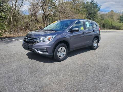 2016 Honda CR-V for sale at Westford Auto Sales in Westford MA