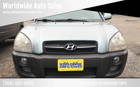 2005 Hyundai Tucson for sale at Worldwide Auto Sales in Fall River MA
