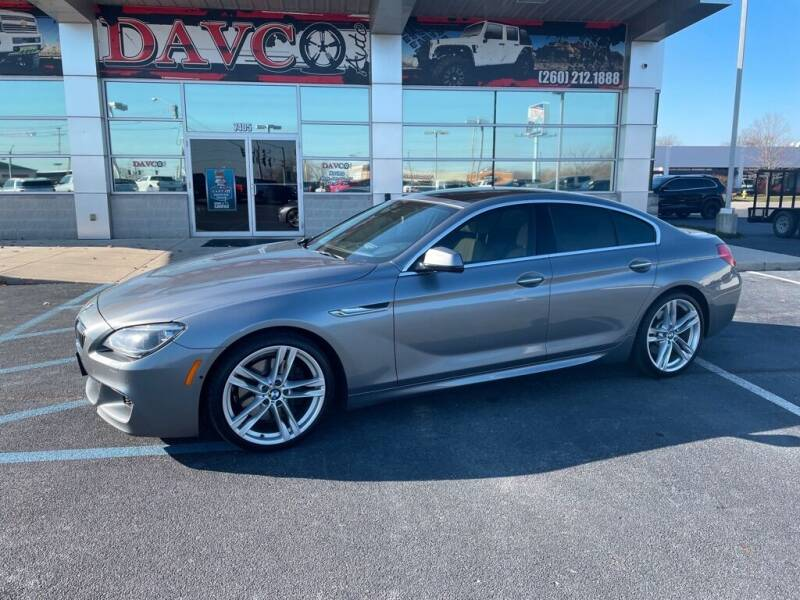2013 BMW 6 Series for sale at Davco Auto in Fort Wayne IN
