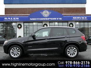 2017 BMW X3 for sale at Highline Group Motorsports in Lowell MA