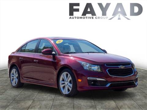 2015 Chevrolet Cruze for sale at FAYAD AUTOMOTIVE GROUP in Pittsburgh PA