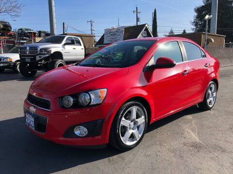 2016 Chevrolet Sonic for sale at C J Auto Sales in Riverbank CA