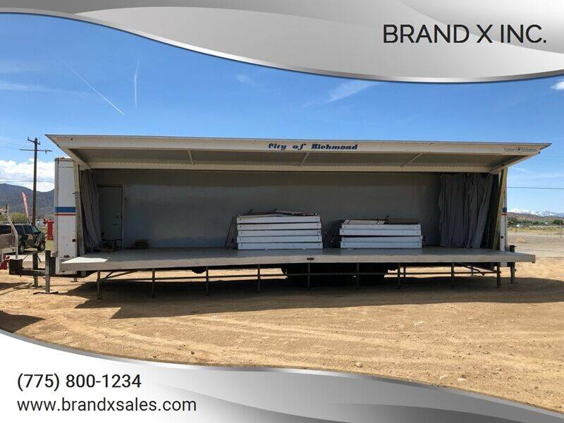 1992 Century industries Portable stage for sale at Brand X Inc. in Mound House NV