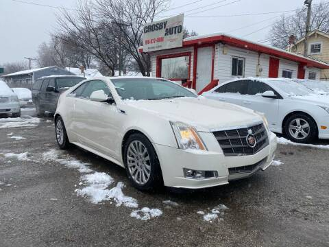 2011 Cadillac CTS for sale at Crosby Auto LLC in Kansas City MO