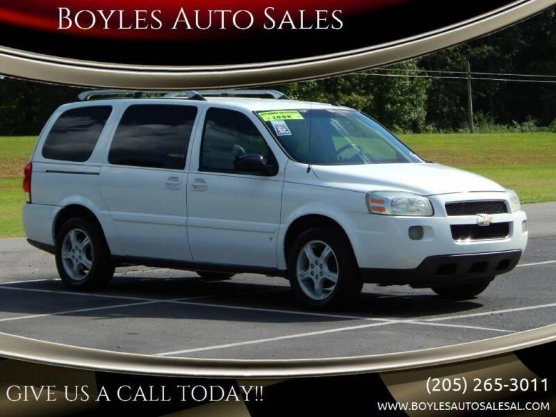 2006 Chevrolet Uplander for sale at Boyles Auto Sales in Jasper AL
