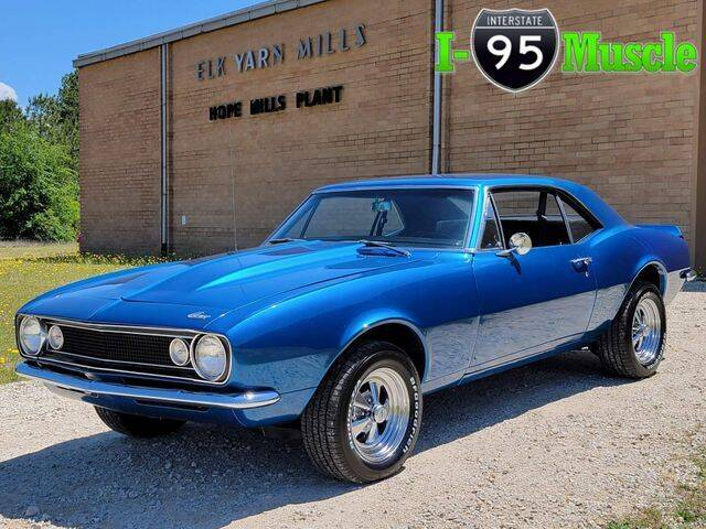1967 Chevrolet Camaro for sale at I-95 Muscle in Hope Mills NC