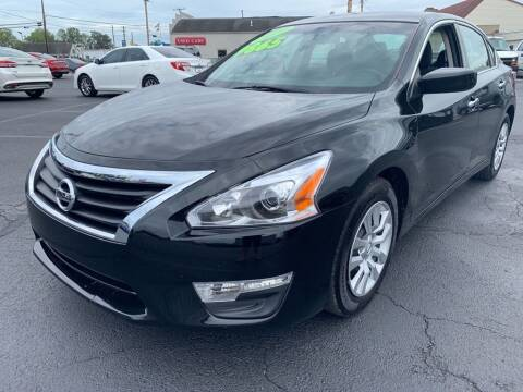 2014 Nissan Altima for sale at Used Car Factory Sales & Service Troy in Troy OH