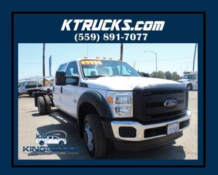 2012 Ford F-550 Super Duty for sale at Kingsburg Truck Center in Kingsburg CA