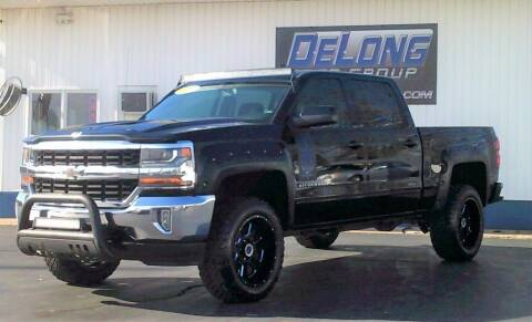2017 Chevrolet Silverado 1500 for sale at DeLong Auto Group in Tipton IN