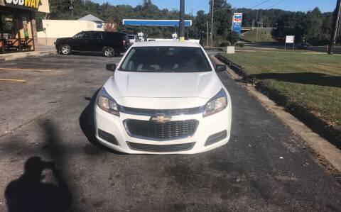 2014 Chevrolet Malibu for sale at BRAVA AUTO BROKERS LLC in Clarkston GA