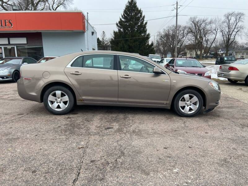 2008 Chevrolet Malibu Hybrid for sale at RIVERSIDE AUTO SALES in Sioux City IA